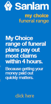 Get Sanlam Funeral Cover - click here